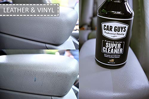 CarGuys Super Cleaner - The Most Effective All Purpose Cleaner Available on The Market! - Best for...