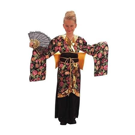 Disfraz de geisha niña: Amazon.es: Juguetes y juegos