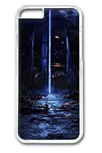 iphone 6 plus Case, iphone 6 plus Cases -Starships Mass Effect Polycarbonate Hard Case Back Cover for iphone 6 plus 5.5 Transparent wangjiang maoyi