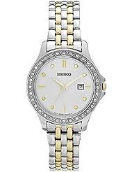 Seiko Dress Womens Quartz Watch SXDF91