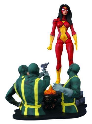 Marvel Now Deadpool Costume - Diamond Select Toys Marvel Select: Spider-Woman Action Figure