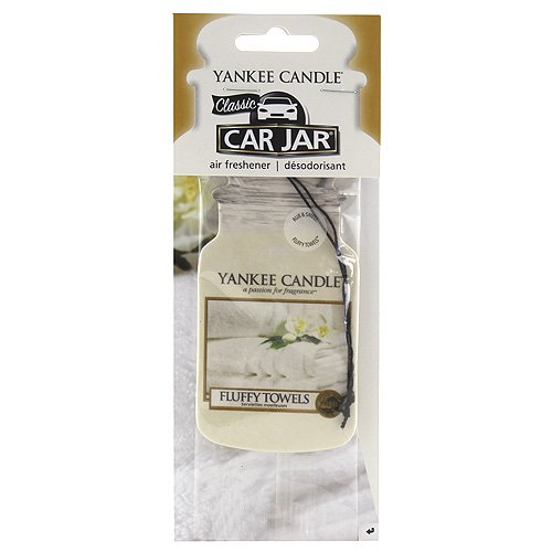 yankee candle 1207596E Fluffy Towels Car Jar