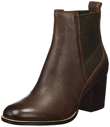 Clarks Othea Ruby, Botines para Mujer Marrón (Dark Tan Leather)