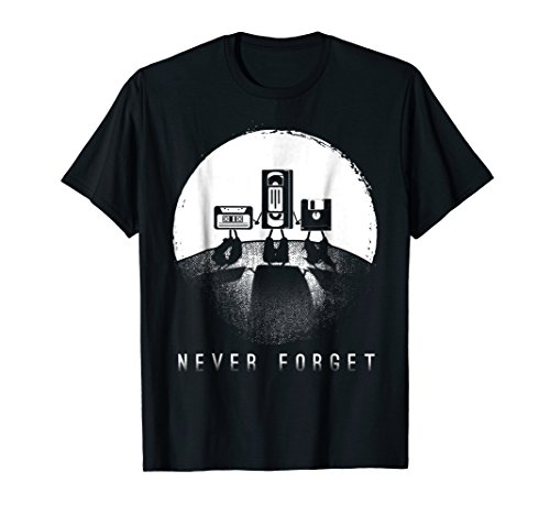 Funny 80s 90s memory gift T Shirts for men women