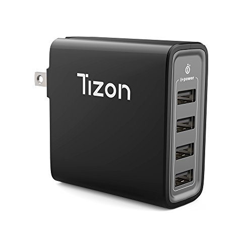 4-port USB Fast Wall Charger  w/I+power High speed chip& fol