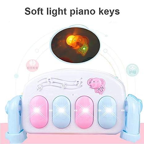 Watkings Tapis de Jeu pour b/éb/é Coup de Pied Piano Clavier Musique Jouant Tapis de Projection Infantile Exercice /éducation Rack Tapis