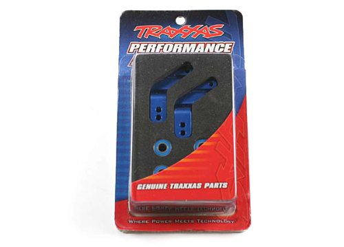Traxxas 3652A Blue-Anodized 6061-T6  Aluminum Rear Stub Axle Carriers (pair)
