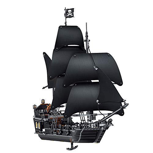 Three-dimensional puzzle Juguetes para niños, Rompecabezas hechizos Bloques de construcción Juguetes Perlas Negras...
