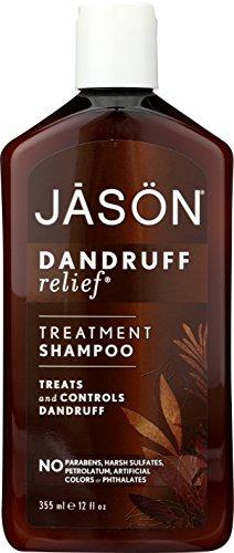 JASON Natural Cosmetics Dandruff Relief Shampoo, Rosemary, Olive and Jojoba, 12 Ounces (Dandruff For Shampoo)