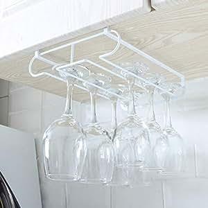 Amazon.com: SAQIMA - Soporte para copas de vino, para colgar ...