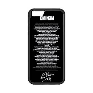 Onshop Custom Eminem Song and Signature Phone Case Laser Technology for iPhone 6 4.7 Inch
