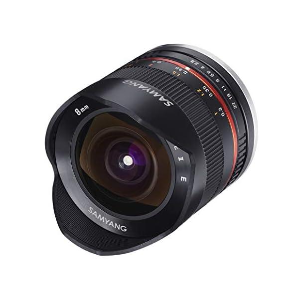 RetinaPix Samyang 8 mm F2.8 UMC Fisheye Manual Focus Lens for Fuji X- Black