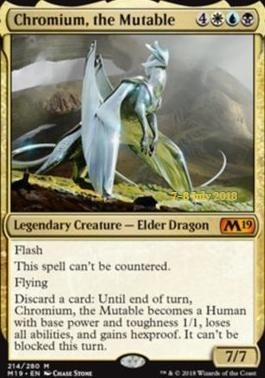 Magic: The Gathering - Chromium, the Mutable - Foil - Prerelease Promos