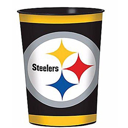 NFL Pittsburgh Steelers Reusable Keepsake Cups (2ct)]()