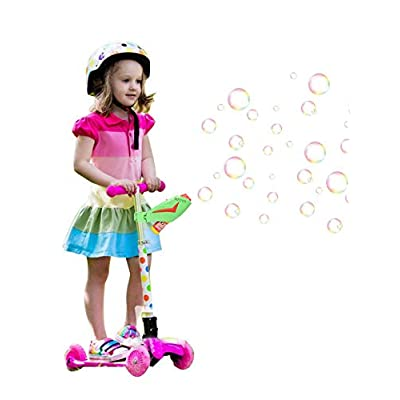rowna Bubble Machine, Outdoor Automatic Durable Scooter Electric Bubble Toy, for Children: Home & Kitchen