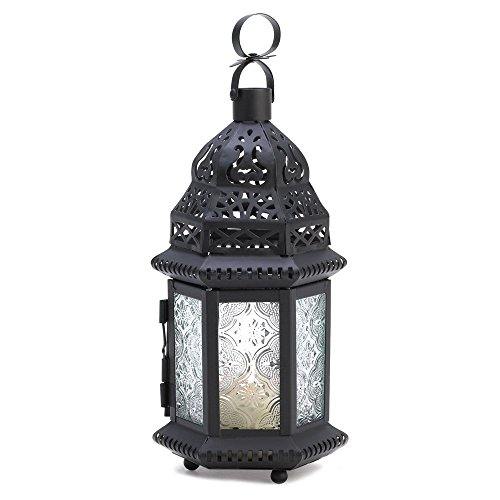 Tom & Co. 10 Wholesale Clear Glass Moroccan Lantern Wedding Centerpieces ()