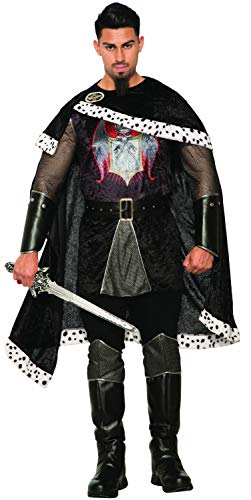 Forum Novelties Co-Dark Royalty-Evil King-Std, Black