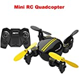 without camera DZT1968 Holdable Mini 2.4 4CH 6-Axis Gyro Foldable anti-interference Drone RC Quadcopter 3D UFO Attitude