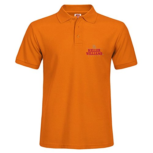 Orange Adult Polo Tees Darlabrown Fashion Short Polo Shirt Size - Allen Polo Outlet