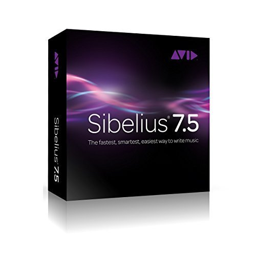 Avid Sibelius 7.5 Site License | Music Notation Software Site License for 5 Seats Electronic Delivery