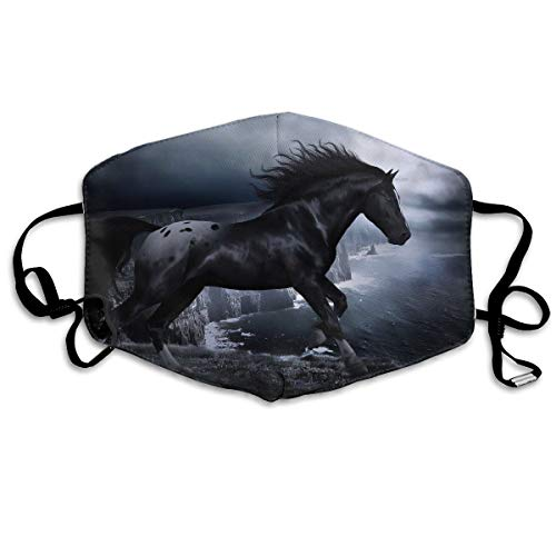 YUANSHAN Dust Mask Cool Horse Outdoor Mouth Mask Anti Dust Mouth Mask Man Woman]()