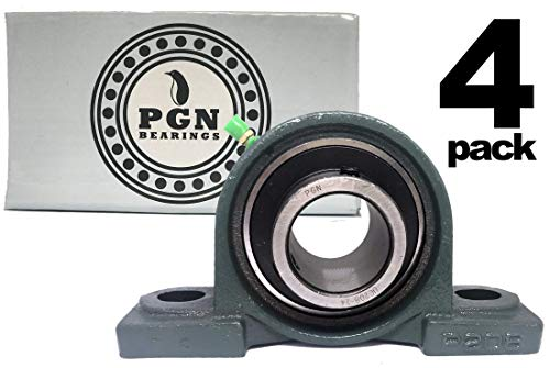 (PGN - UCP208-24 Pillow Block Mounted Ball Bearing 1-1/2