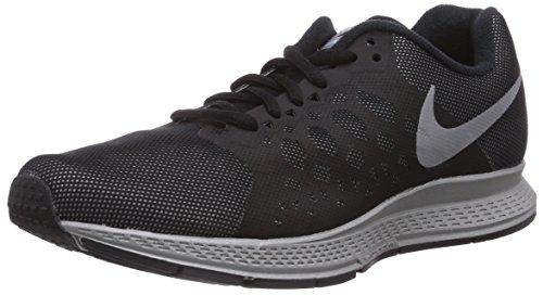 Nike Women's Zoom Pegasus 31 Flash Black/Reflect Silver Running Shoe 8 Women US
