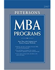 MBA Programs 2007, Guide to, 12th ed