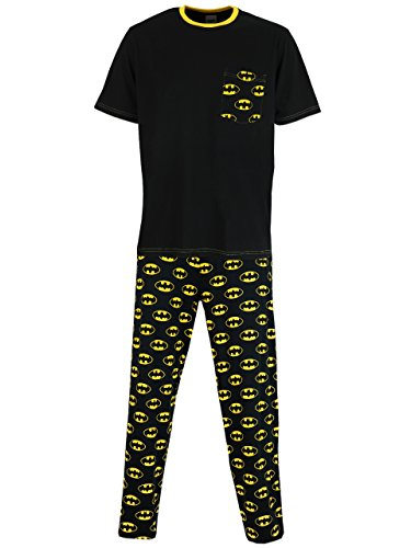 Batman Mens' Batman Pajamas XL