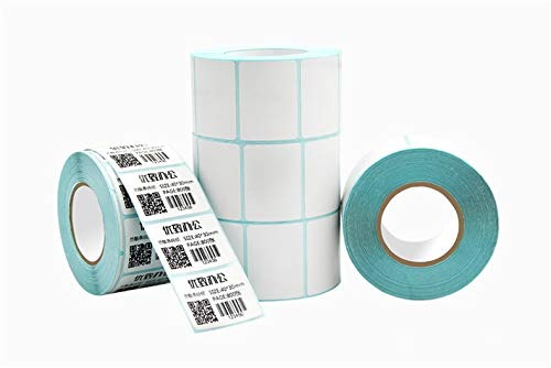 Printer Parts 1 rollsPOS Thermal Label Paper 40 x30 mmThermal Printer Thermal Labels Waterproof Barcode Blank Stickers (Total 800 Labels) by Yoton (Image #2)