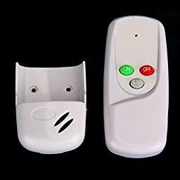 Awakingdemi Remote Wall Switch ,1 Way Port 110V LED Light Digital Wireless Wall Remote Control Switch