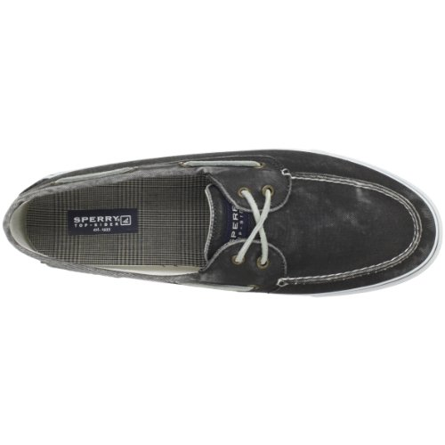 Sperry Bahama 2-Eye Canvas 0224204 Herren Sneaker Schwarz (black normal)