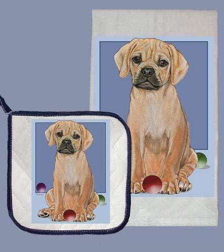 Puggle Dish Towel