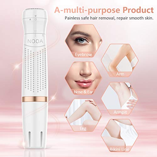Bikini Trimmer For Women, 4 in 1 Electric Ladies Shaver Facial Hair Painless Removal Eyebrow Trimmer Waterproof Razor