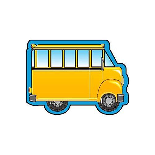 Bus Notepad - Creative Shapes Etc. School Bus Mini Notepad