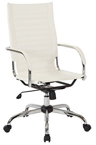 Trinidad Lounge Chair - Avenue Six TND940A-WH Office Chair