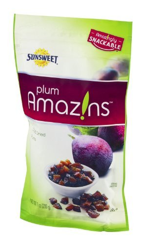 Sunsweet Plum Amazins Diced Dried Plums 7oz Pouch (Pack of - Sunsweet Plums Dried Plum