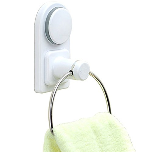 LTH Towel Ring, Towel Rack, Suction Cup Towel Ring, Super Strong Hanging Ring for Bathroom Kitchen Toilet by LTH