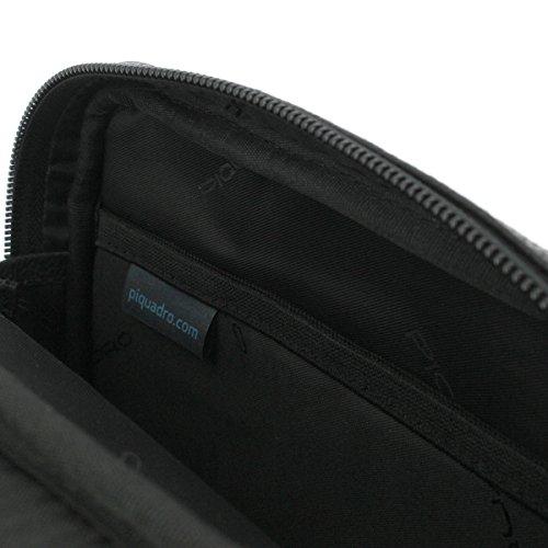 Piquadro Bandolera  Azul Oscuro Negro