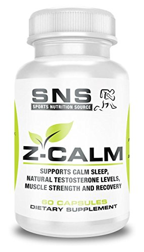 SPORTS NUTRITION SOURCE - Z-Calm Zinc and Magnesium (ZMA) 60 count by SPORTS NUTRITION SOURCE