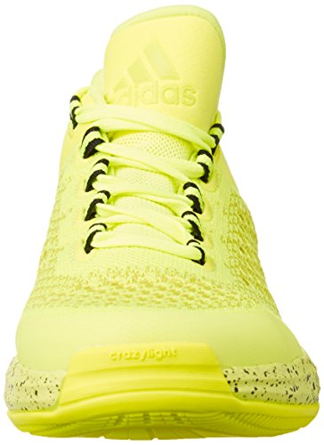 Adidas 2015 Crazylight Boost Primekni - Zapatillas para Hombre, Color Lima/Negro, Talla 44