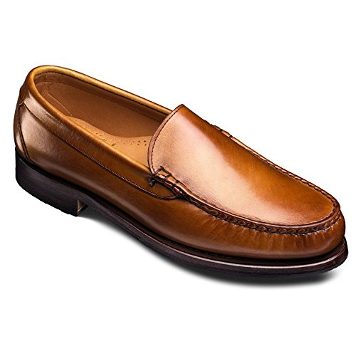 Allen Edmonds Men's Sanibel Slip On Venetian Loafer 6.5 E Men 21595 Walnut Loafers Shoes - Allen Edmonds Leather Moccasins