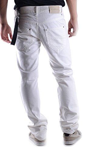 Richmond Homme MCBI256029O Blanc Coton Jeans