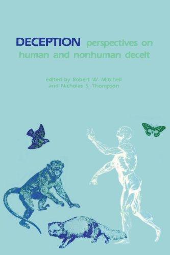 Deception: Perspectives on Human and Nonhuman Deceit (Suny Series in Animal Behavior) (Suny Series on Animal Behavior)