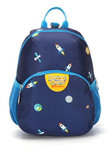 (Leaper Cute Rockets Pattern Backpack for Kids Backpack for Boys Girls Book Bag, Gifts for)