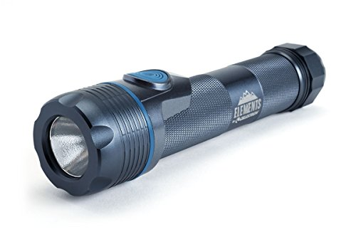 Celestron - Elements ThermoTorch 10 - Lithium Ion Battery LED Flashlight - 3-in-1 Tactical Flashlight - Ergonomic Hand Warmer and USB Power Bank - Rechargeable Flashlight