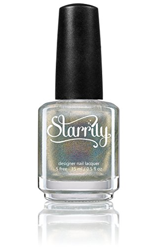 Holographic Top Coat - 15ml Nail Polish by Starrily - Eclipse