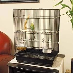 """Petco Designer Square Top Parakeet Cage, 16.5"""" L X 11.8"""" W X 22"""" H"""