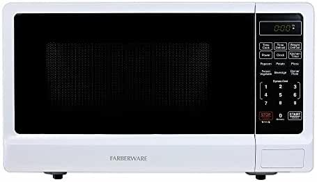 Farberware Classic FMWO11ABTWHA 1.1 Cubic Foot 1000-Watt Microwave Oven, White