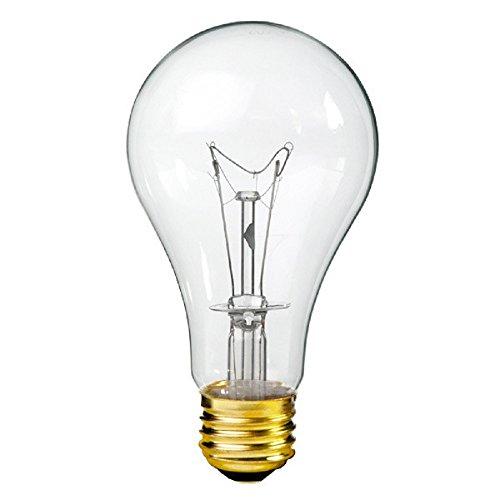150 Watt - A21 - Rough Service - Clear 5,000 Life Hours - 1,650 Lumens - 130 Volt - PLT - A21 Light 130v Bulb